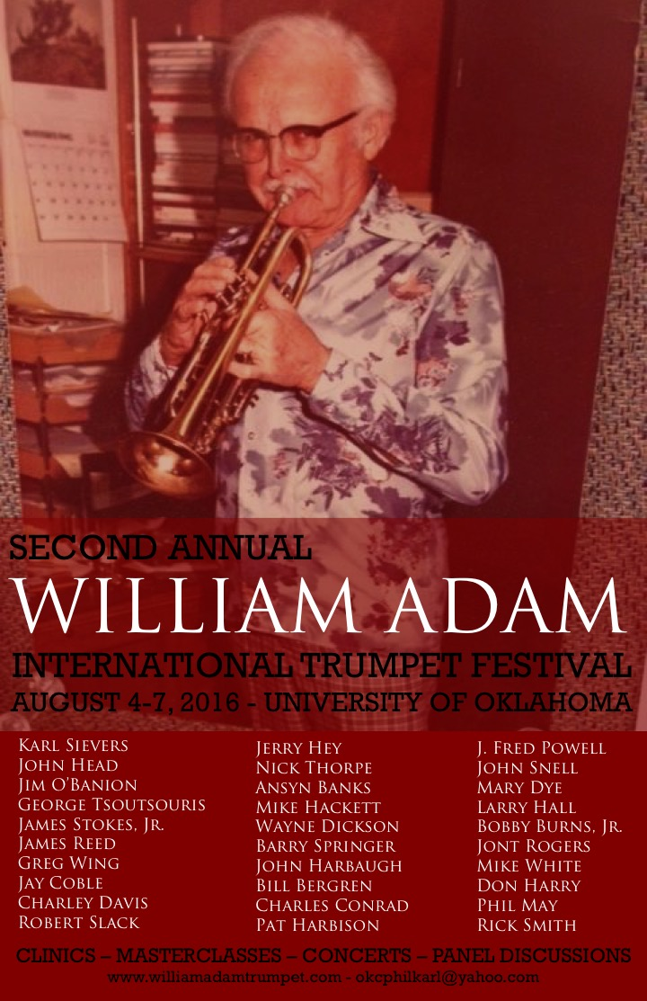 2nd Annual William Adam Trumpet Festival